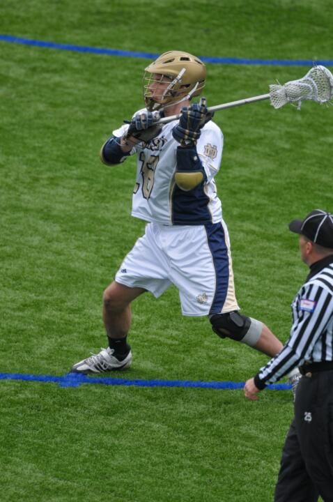 Senior attackman Sean Rogers earned his second career BIG EAST player-of-the-week accolade.