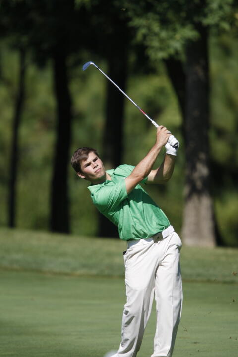 Max Scodro led the Irish attack on day one of the Schenkel Invite, finishing with a 69 (-3).