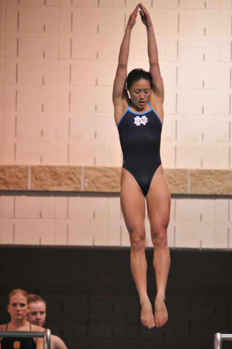 Junior Jenny Chiang is competing in her first NCAA Diving Championships this weekend.