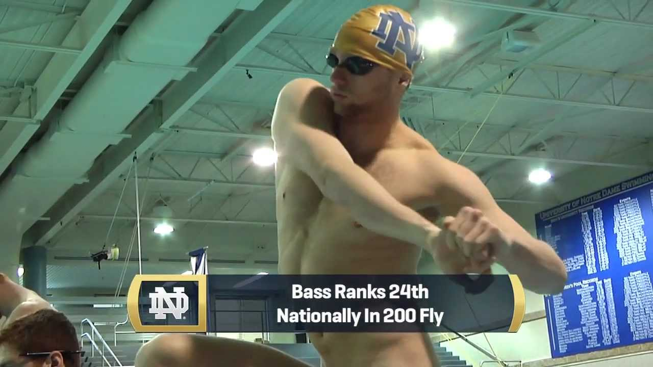 Notre Dame Men's Swimming - Dyer, Bass At NCAAs.