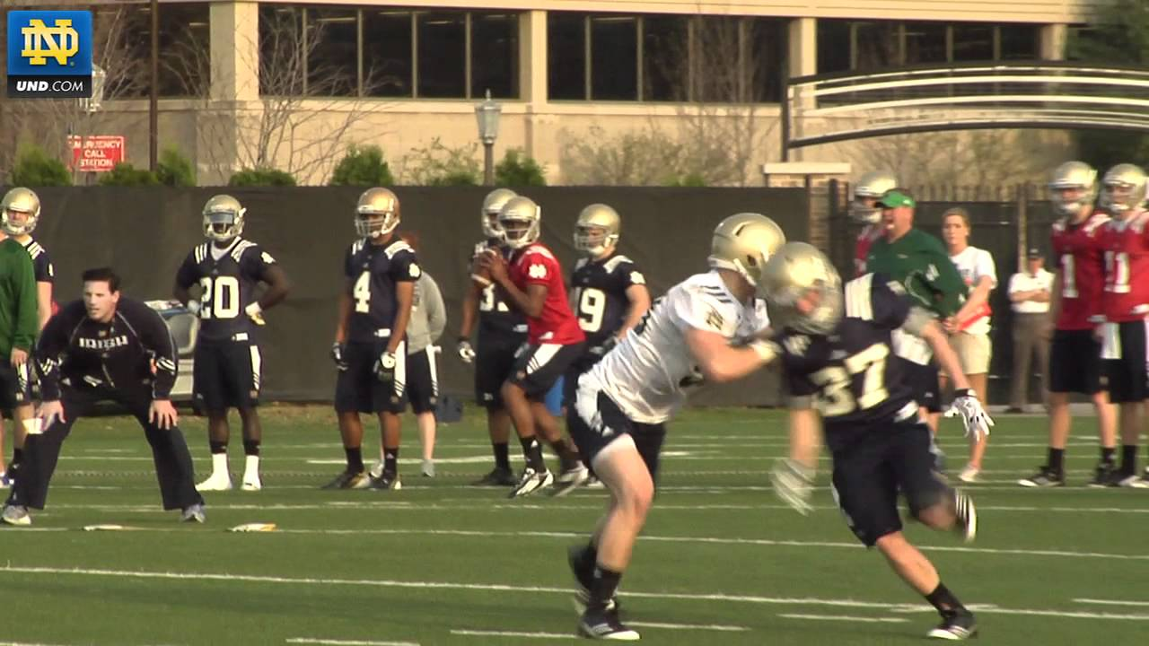 Notre Dame Football - 2012 Spring Practice Update - March 21, 2012