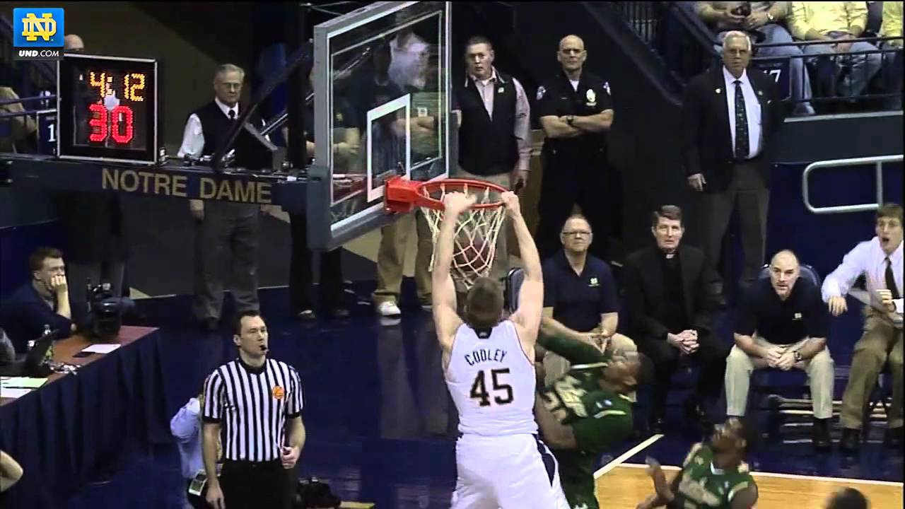Notre Dame Men's Basketball - Jack Cooley - UND.com Selection Sunday Show