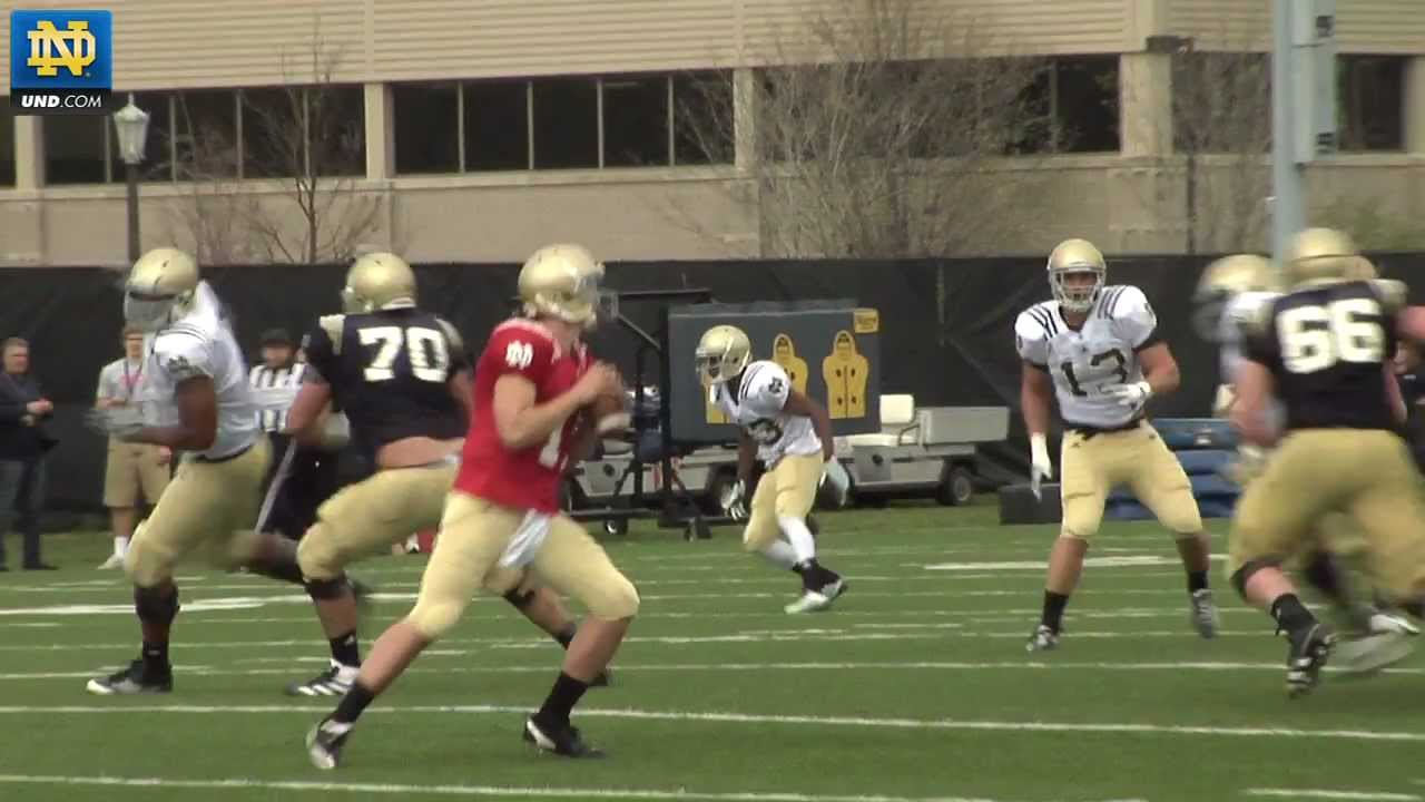 Notre Dame Football - 2012 Spring Practice Update - March 28, 2012