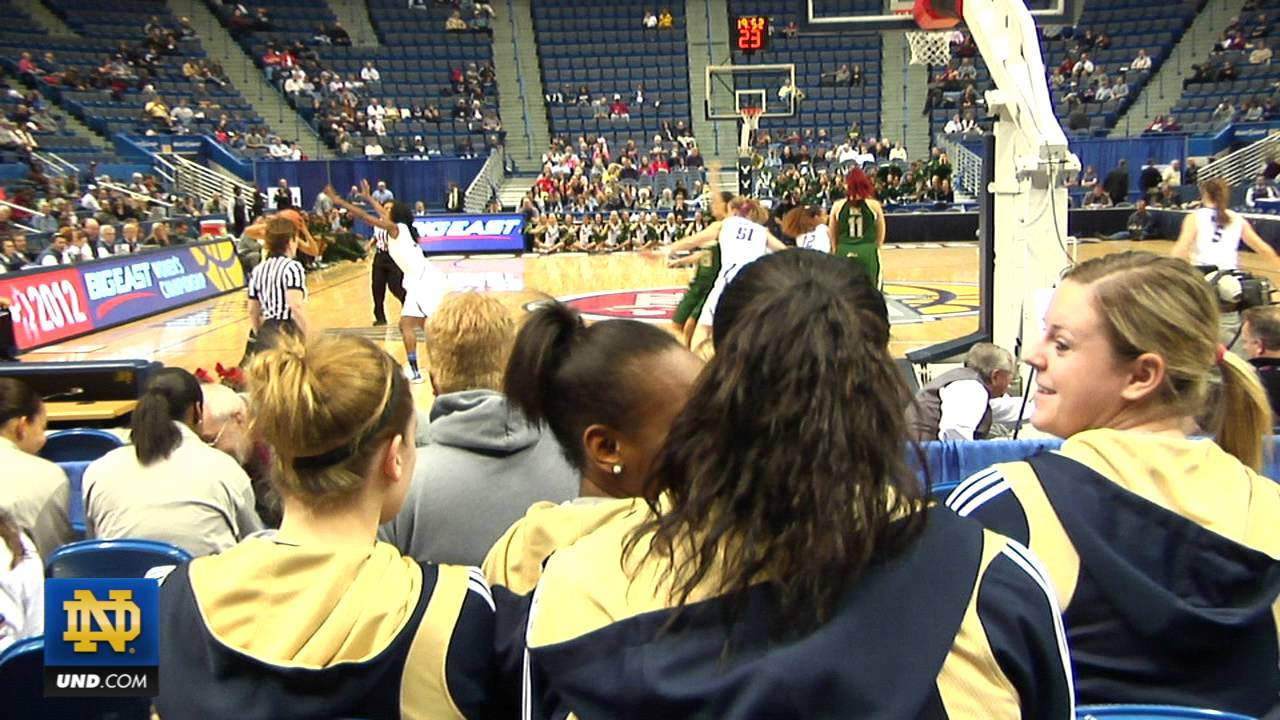 Notre Dame Women's Basketball - A Day In The Life 2012 BIG EAST Tourney