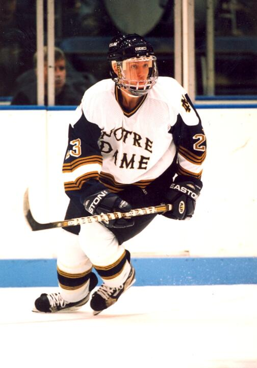 John Wroblewski '03, a four-time monogram winner for the Irish from 1999-03, was named the ECHL co-coach of the year for the 2011-12 season.