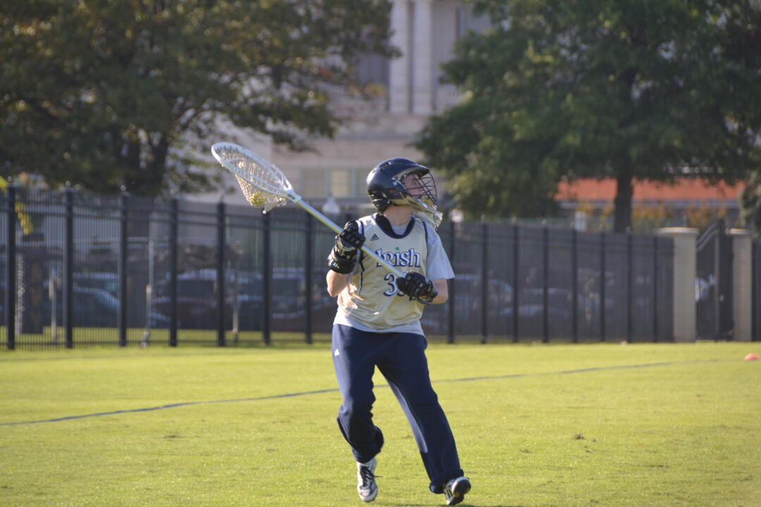 Allie Murray recorded her first career win as the Irish defeated Villanova, 18-5, Saturday.