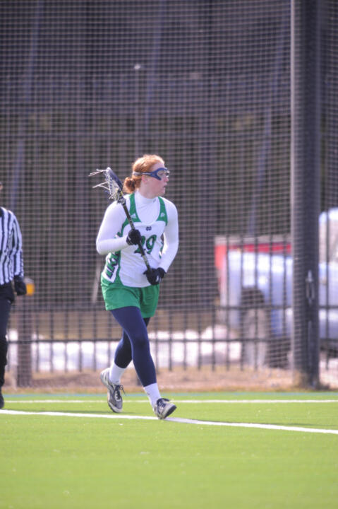 Freshman Barbara Sullivan has is tied for the team lead with 28 ground balls.