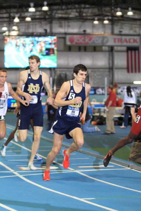 Junior Jeremy Rae earned BIG EAST Men's Track Athlete of the Week honors on Tuesday.