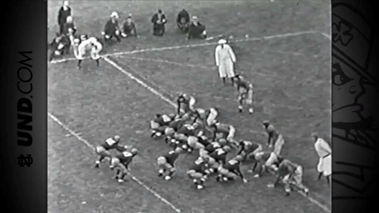 1935 vs. Ohio State 'Game of the Century' - 125 Years of Notre Dame Football - Moment #002