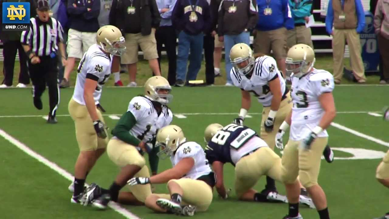 Notre Dame Football - 2012 Spring Practice Quarterback Update - April 16, 2012