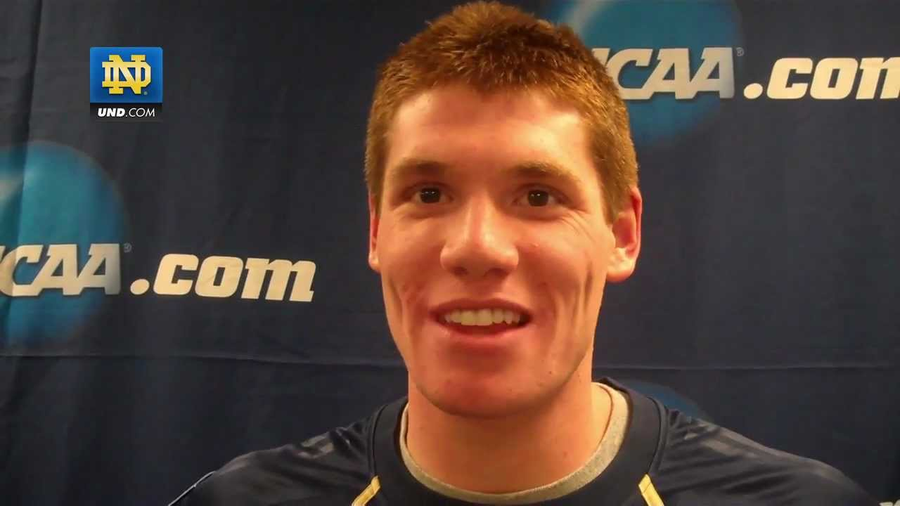 Notre Dame Mens Swimming - Frank Dyer, Post NCAA Championship Interview