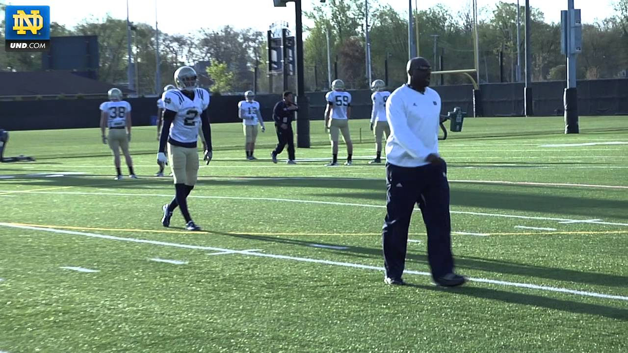 Notre Dame Football - 2012 Spring Practice Update - April 4, 2012