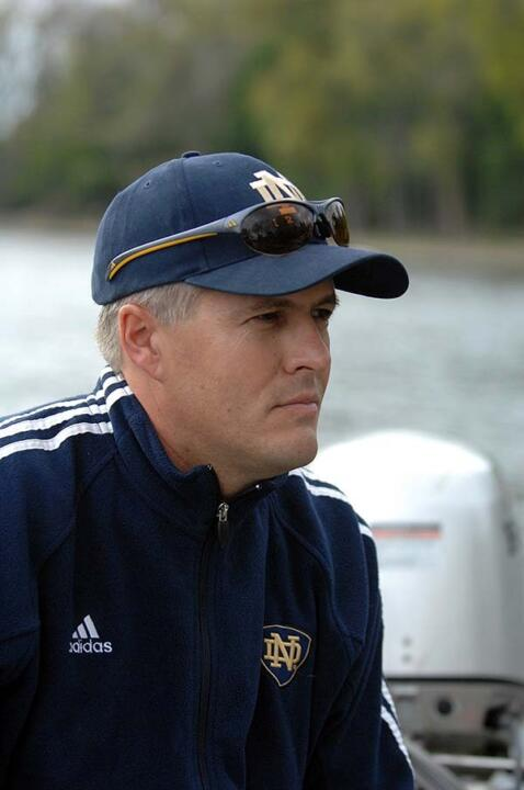 Head coach Martin Stone and the Irish are returning to the NCAA Championships for the first time since 2007.