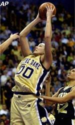Ruth Riley ('01), the 2001 consensus national player of the year and Academic All-America Team Member of the Year, will be inducted into the Capital One Academic All-America Hall of Fame on June 25 in St. Louis.