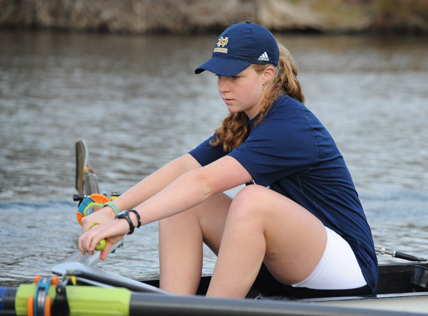 Stephanie O'Neill and the Irish claimed their ninth straight BIG EAST title Sunday. O'Neill also was one of six Irish rowers selected all-BIG EAST following the day's races.