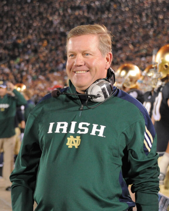 Brian Kelly, a 1983 graduate of Assumption College, has established a $250,000 endowed scholarship at his alma mater.