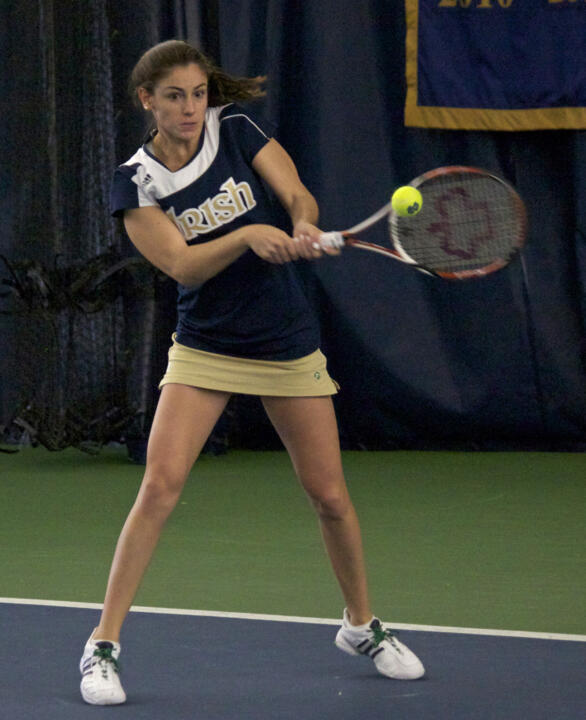 Shannon Mathews earned her second straight bid into the NCAA Singles Championship after a 20-9 senior campaign.