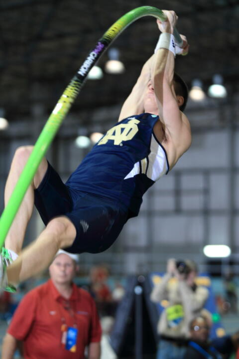 Senior Kevin Schipper heads to Tampa looking for his third consecutive outdoor title in the pole vault.