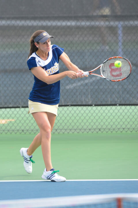 Shannon Mathews has been named the 2012 ITA Midwest Region Senior of the Year.