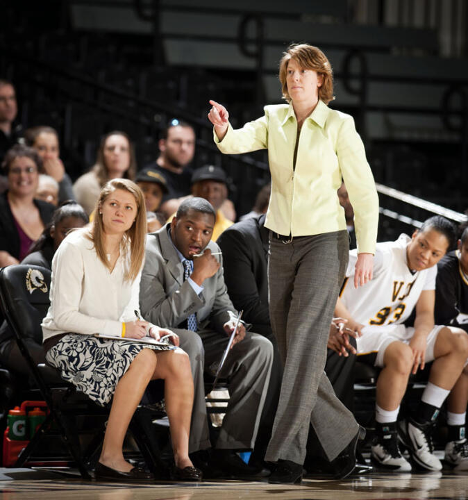 Beth Cunningham, a former two-time All-America guard and Notre Dame's all-time leading scorer, has been named associate coach for the Fighting Irish following a successful 11-year stint at VCU, including the past nine seasons as the Rams' head coach.