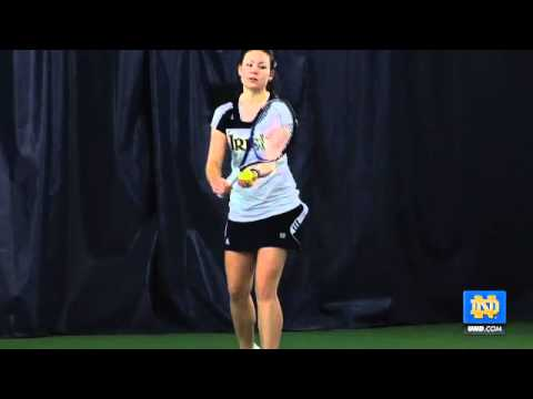 Notre Dame Women's Tennis - Prepping for the NCAA Tourney