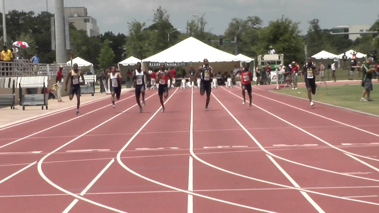 Notre Dame Track and Field - 2012 BIG EAST Outdoor 100 Meter Dash