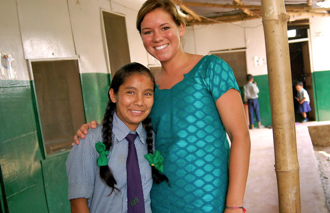 Former Notre Dame women's soccer player Lindsay Brown, who has helped spark a national fundraising effort to send more than 50 Nepalese girls to school in the past two years, is a finalist in the 2012 <i>Seventeen</i> Magazine 'Pretty Amazing' Scholarship Contest.