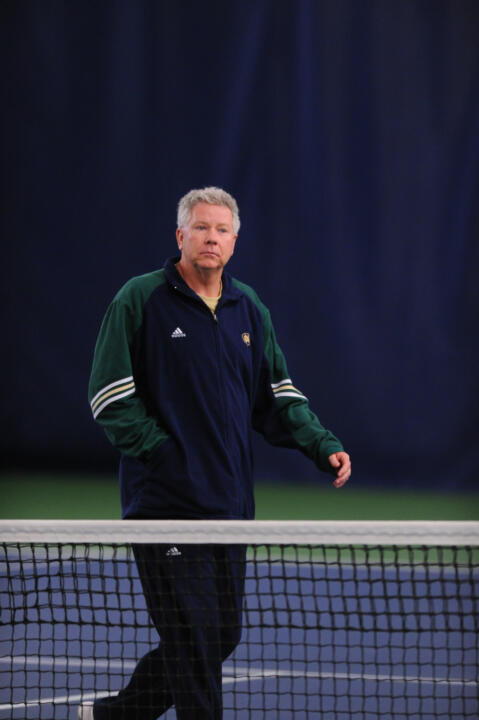 Head coach Jay Louderback has won 12 BIG EAST Championships at Notre Dame