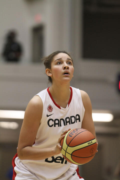 Notre Dame junior forward Natalie Achonwa will be the second Fighting Irish women's basketball player to compete in the Olympics (first since 2004 U.S. gold medalist Ruth Riley) after she helped Canada qualify for the 2012 London Olympics Sunday afternoon.