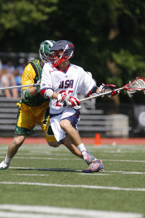 Matt Kavanagh leads all Team USA players in goals (12) and assists (4).