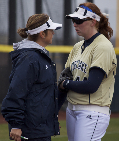 Head coach Deanna Gumpf and Laura Winter
