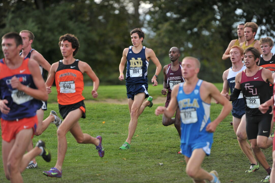 Senior co-captain Jeremy Rae leads the Irish into the upcoming 2012 cross country season.