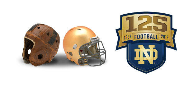 The University of Notre Dame will play its 125th season of intercollegiate football in 2012, marking the occasion with numerous events and celebratory activities.
