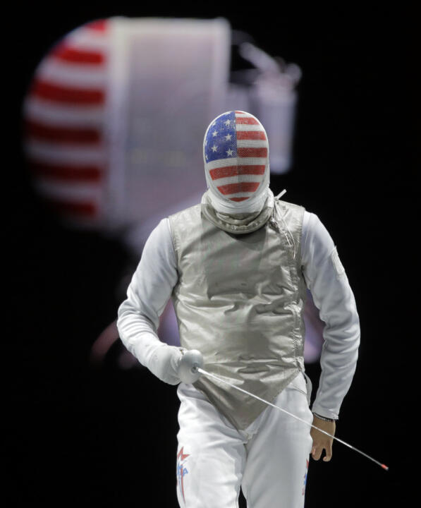 Gerek Meinhardt was the fifth Notre Dame fencer to compete in the 2012 Olympics