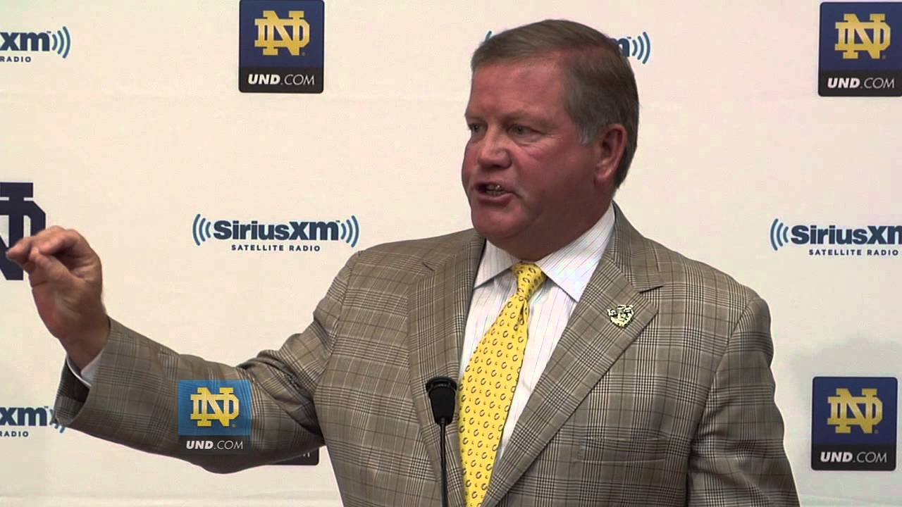 Brian Kelly Press Conference - Aug. 28th 2012 - Notre Dame Football