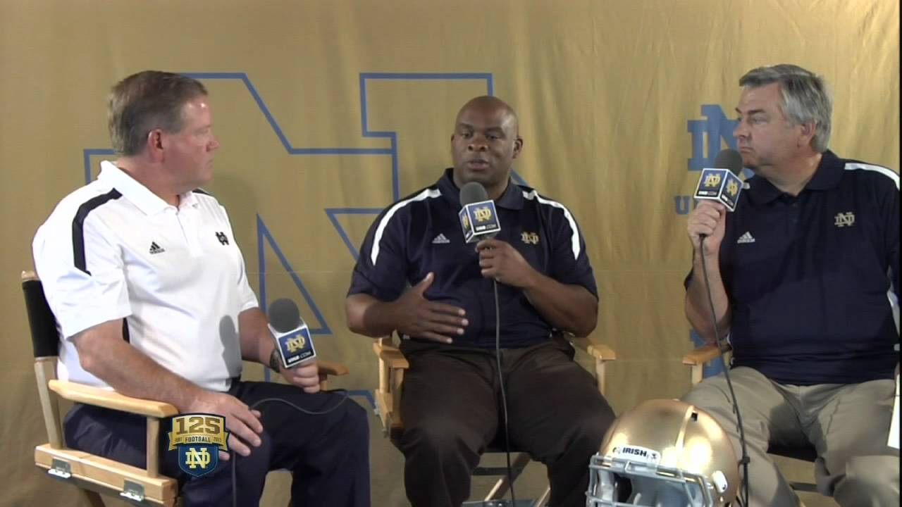 Brian Kelly Interview - UND.com 2012 Notre Dame Football Media Day Live