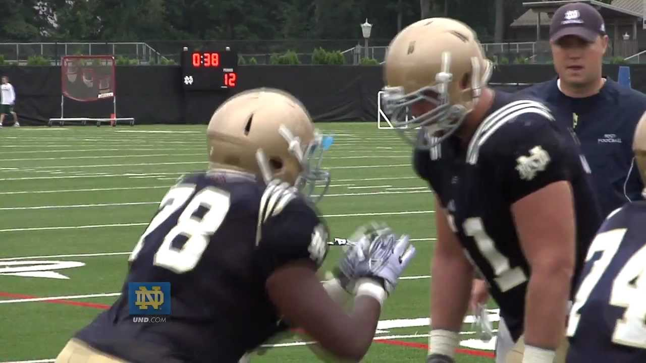 Practice Highlights - Aug. 13, 2012 - Notre Dame Football