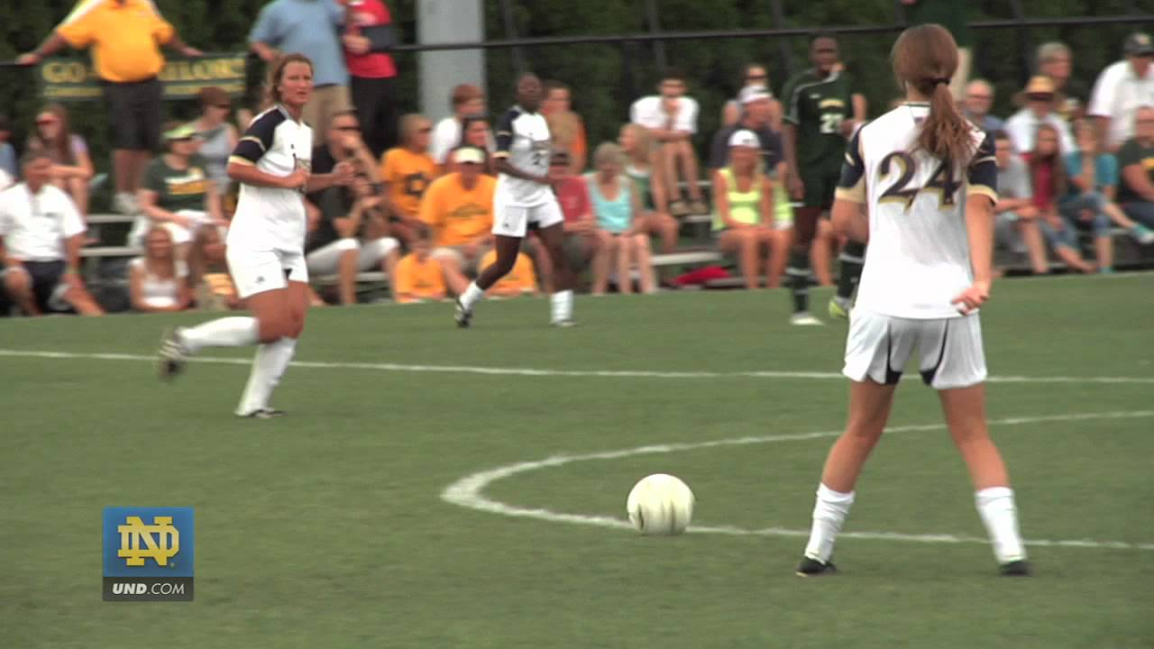 Notre Dame Women's Soccer Exhibition Highlights