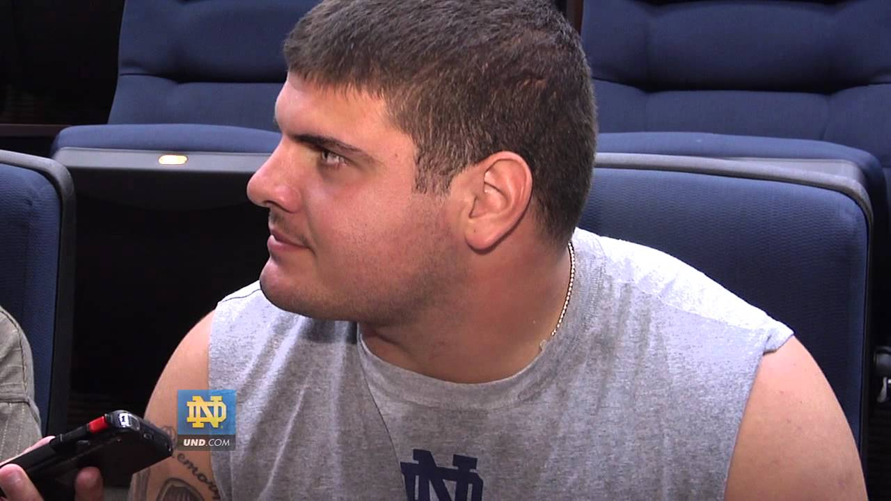 Carlo Calabrese Interview - Aug. 11, 2012 - Notre Dame Football