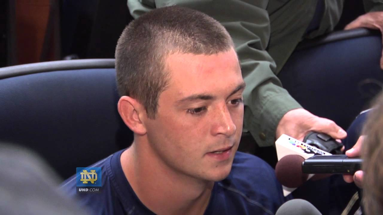 Tommy Rees Interview - Aug. 11, 2012 - Notre Dame Football