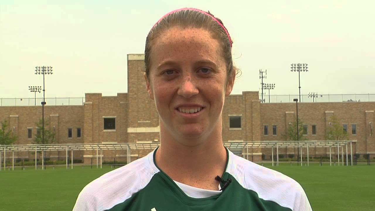 Notre Dame Women's Soccer Goalkeeper Battle Promotion