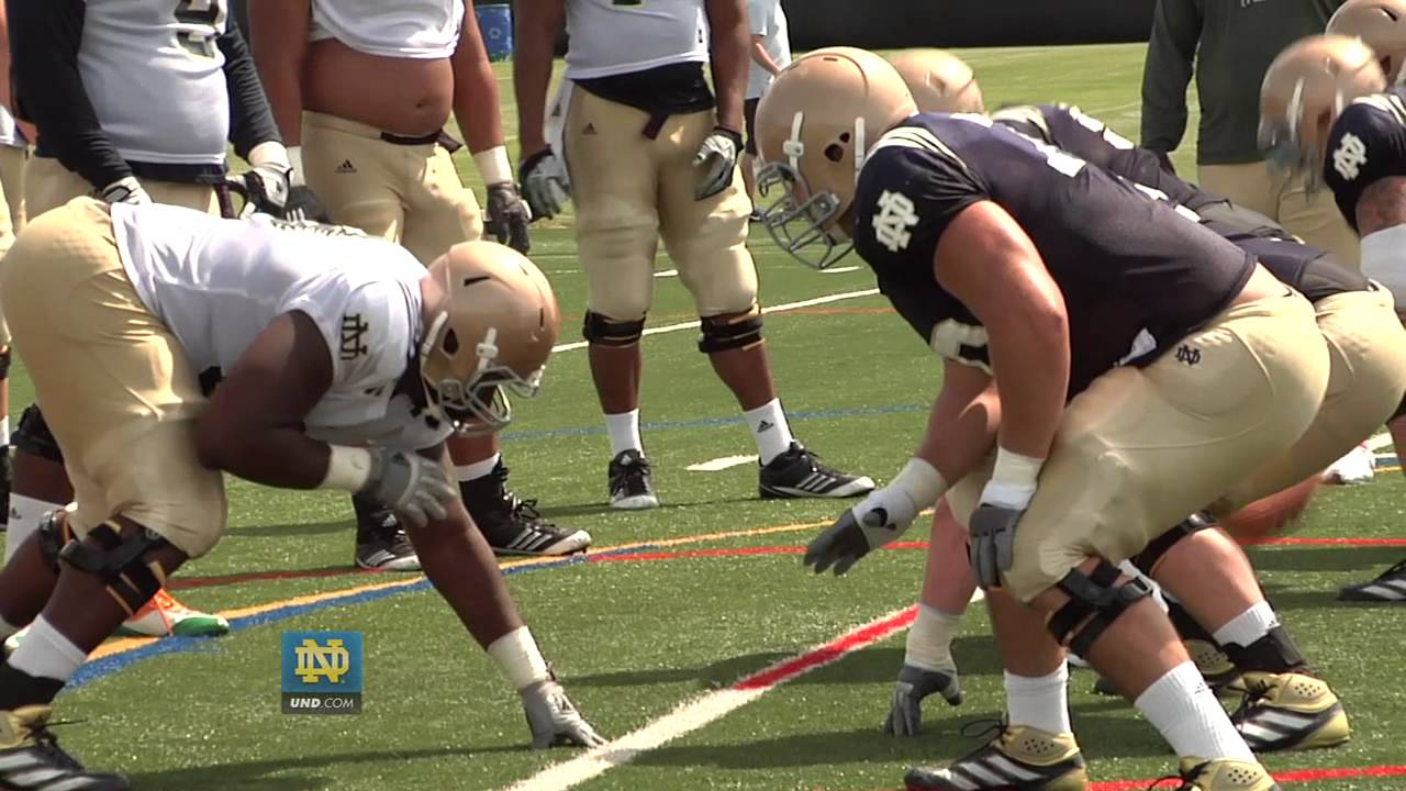 Notre Dame Football Practice Update - Aug. 8, 2012 - First Day In Pads
