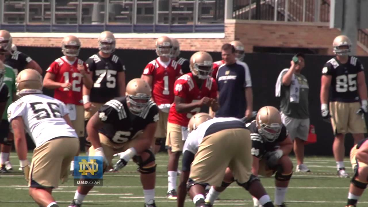 Notre Dame Football Practice Update - Aug. 4, 2012