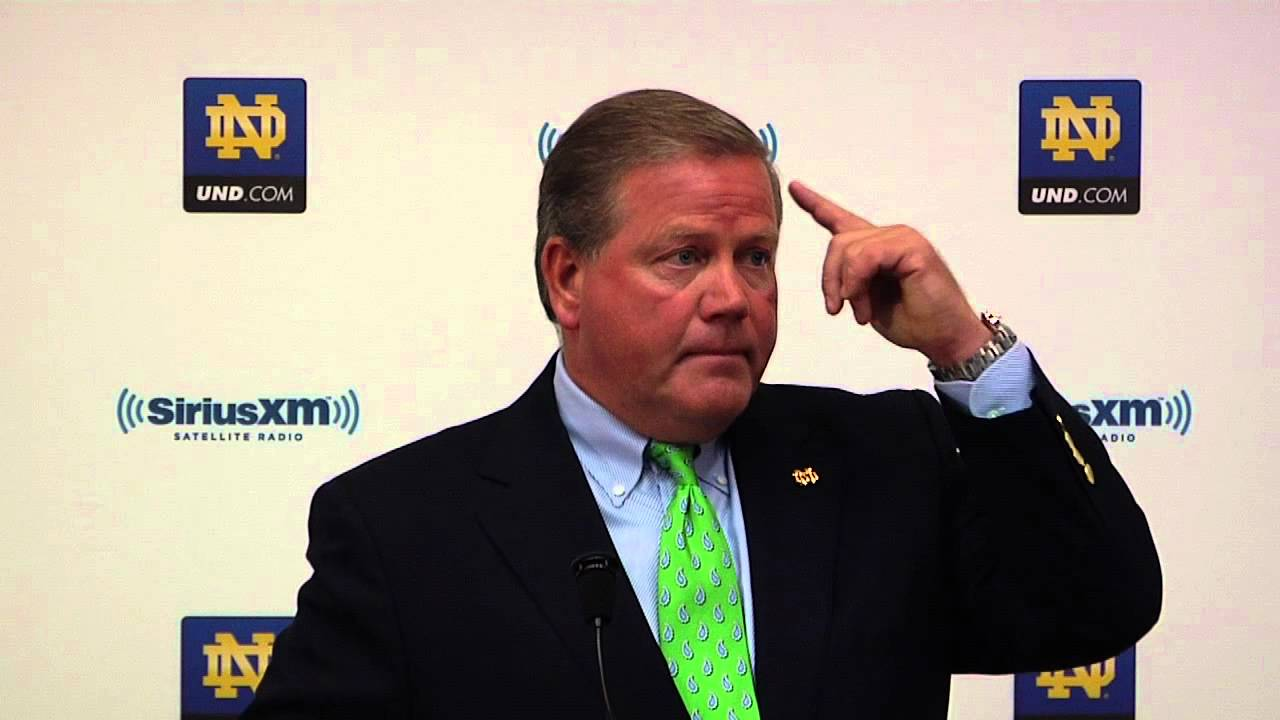Brian Kelly Press Conference - Aug. 3, 2012 - Notre Dame Football