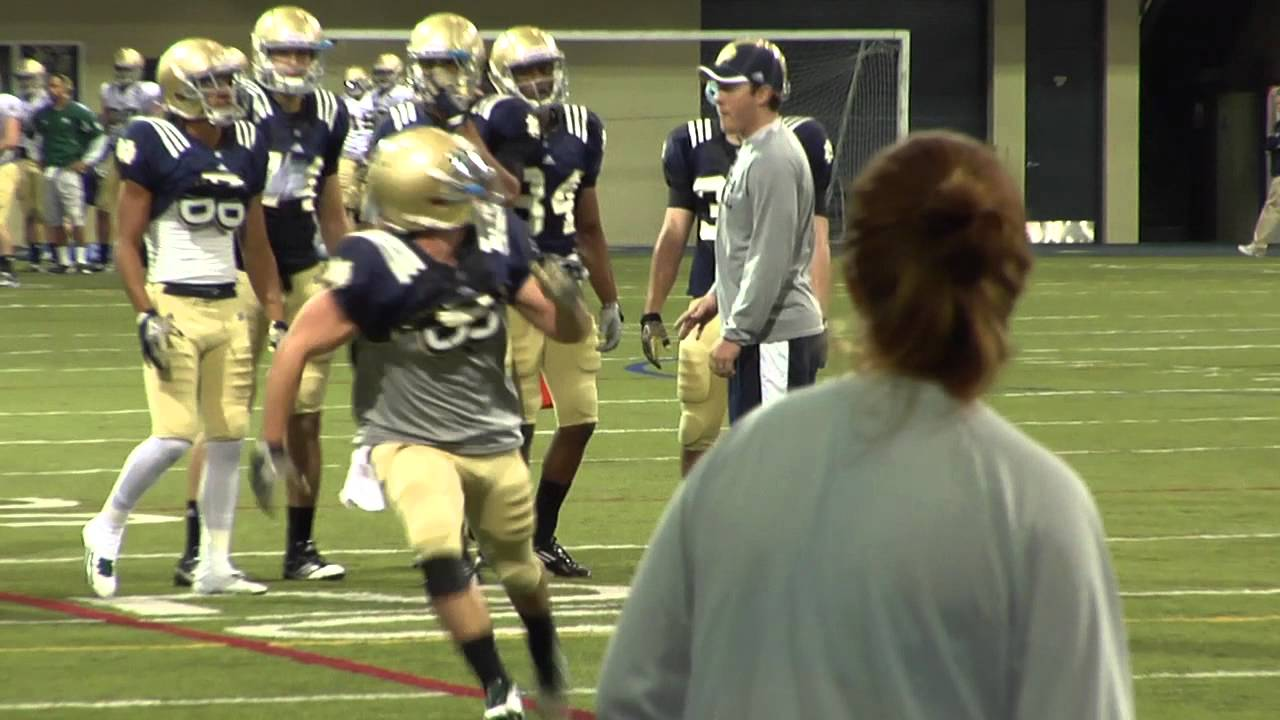 Brian Kelly Interview - Tight Ends/Wide Receivers - Aug. 2, 2012 - Notre Dame Football