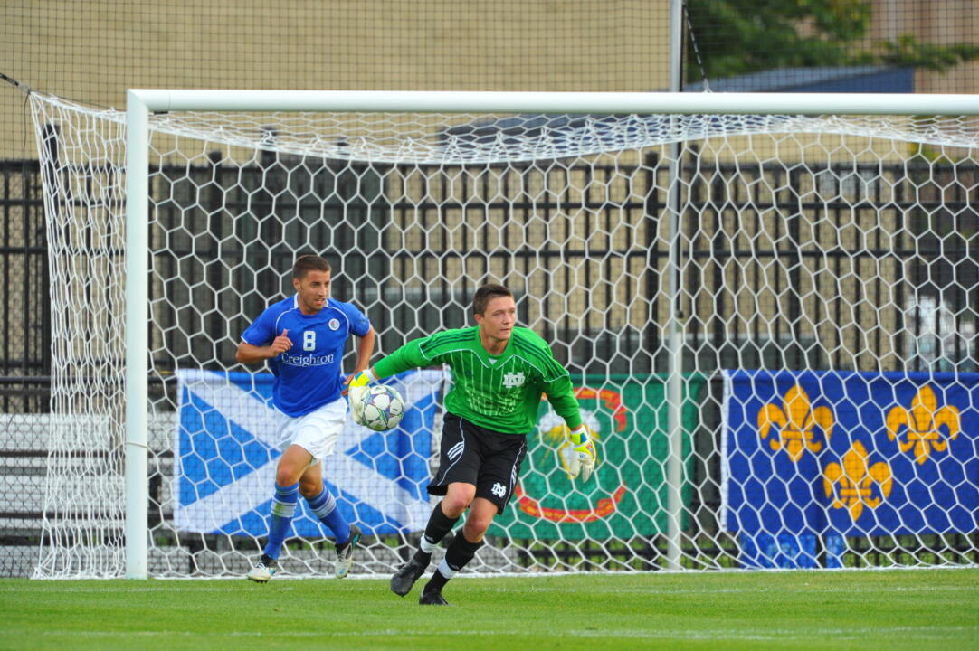 Will Walsh made five saves in last season's scoreless draw with Indiana.