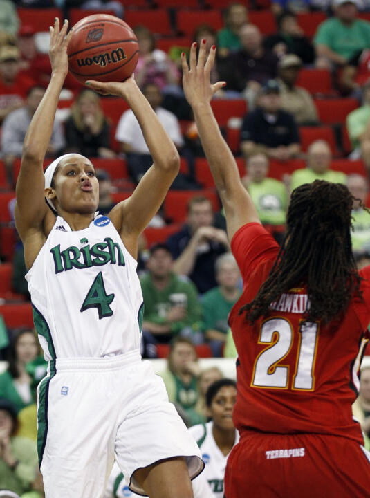 On Tuesday, Notre Dame senior all-America guard Skylar Diggins was named to the watch list for 2012-13 Wade Trophy, presented annually to the nation's top women's college basketball player.