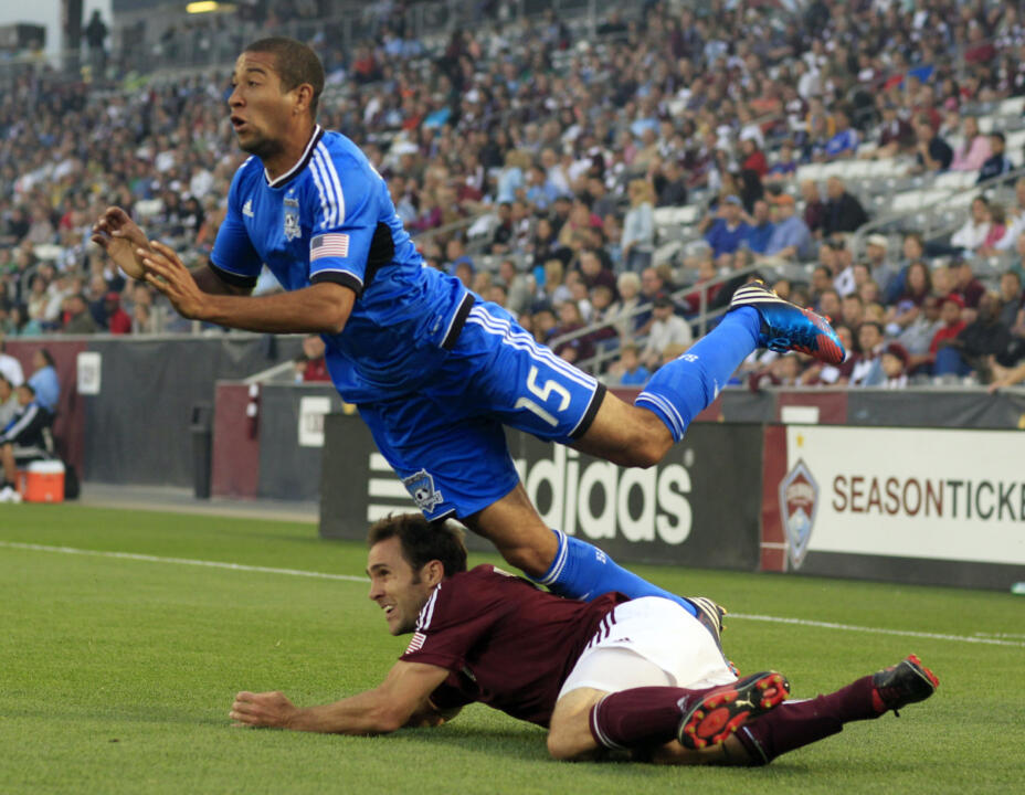 Justin Morrow was the starting left back for the MLS All-Star squad that defeated Chelsea, 3-2.