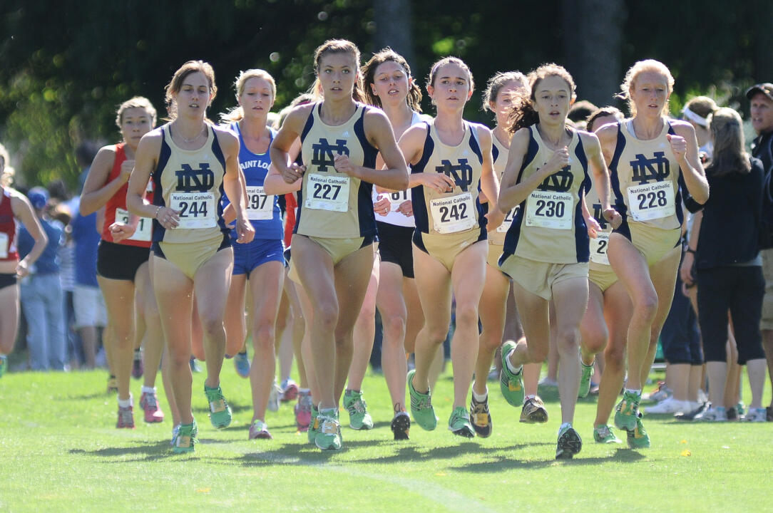 The Notre Dame cross country programs each received academic awards from the NCAA recently.