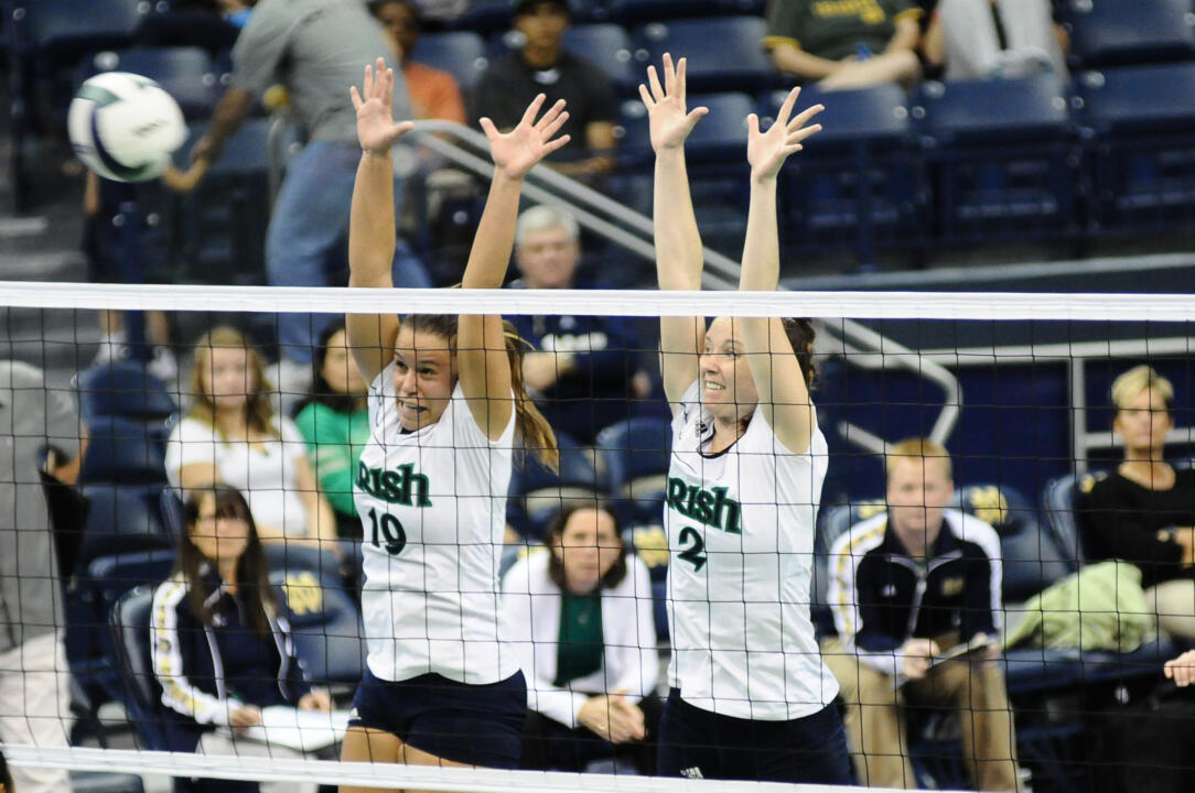 The Irish blockers could be a major factor in Notre Dame's match against Louisville on Sunday.